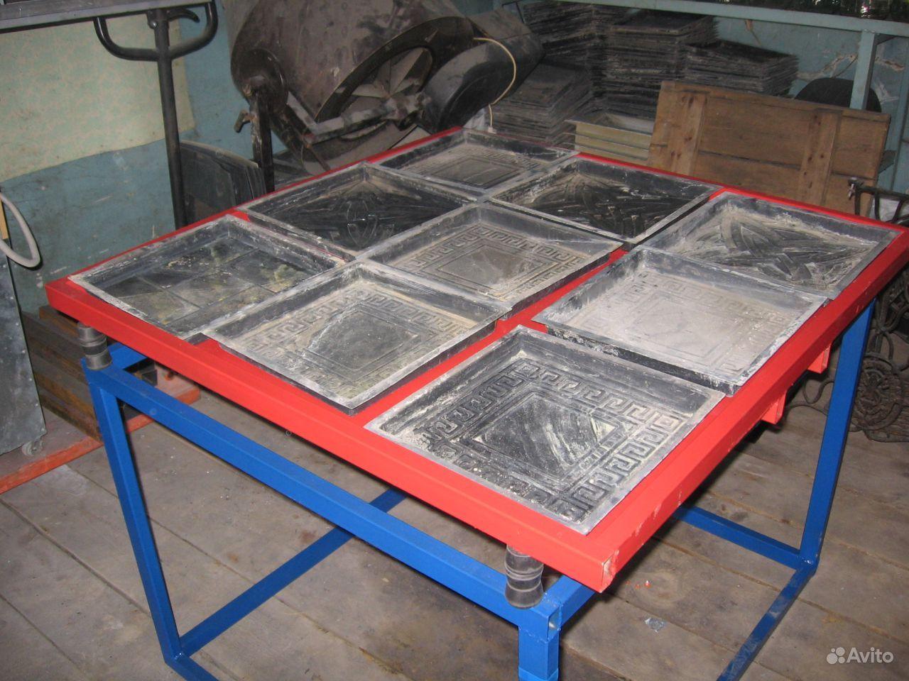 Как сделать станок для изготовления тротуарной плитки своими руками