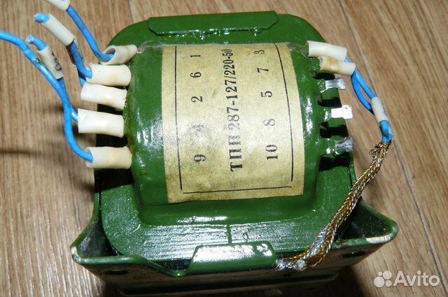 Трансформатор тпп-287 127/220-