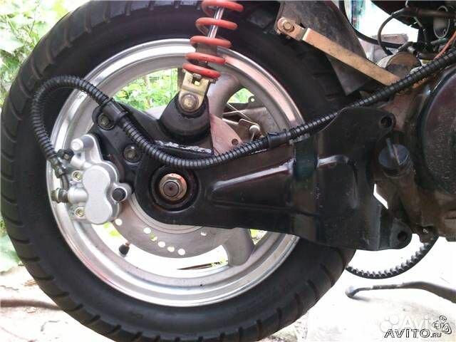 Как сделать передние тормоза скутера
