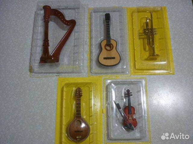 Миниатюры музыкальных инструментов 89502007232 купить 1