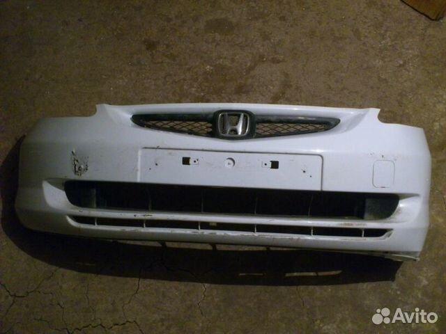 Бампер передний на Honda Fit, Honda Jazz