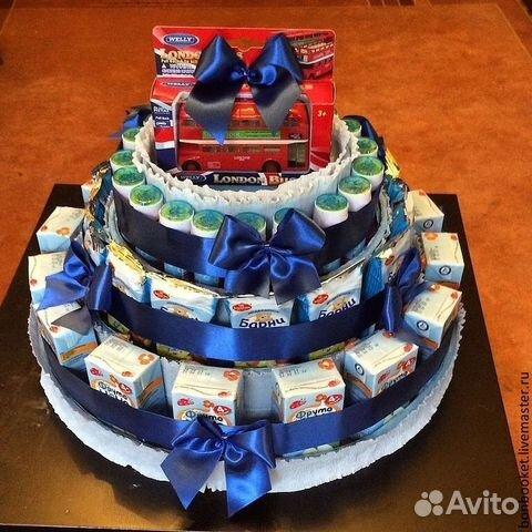 Тортики из вкусняшек