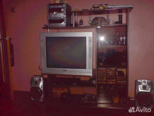 Телевизор Rolsen C29R90 Platinum плоский экран PAL, SECAM, NTSC . размеры 78x59x54, в хорошем состоянии . + тумба.