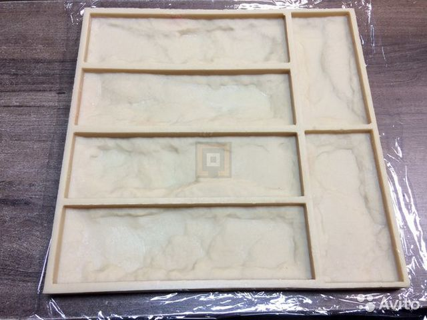 Форма для декоративного камня своими руками из полиуретана 80