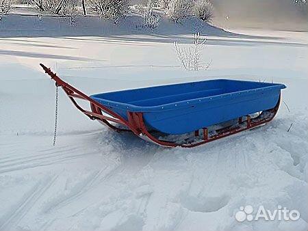 Сани для снегохода буран своими руками