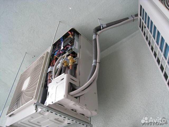 Обслуживание и ремонт сплит систем 2