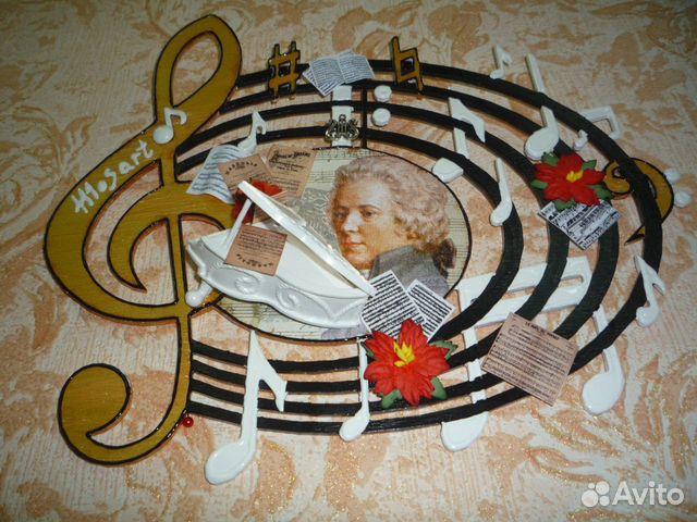 Подарок на музыкальную тематику 33