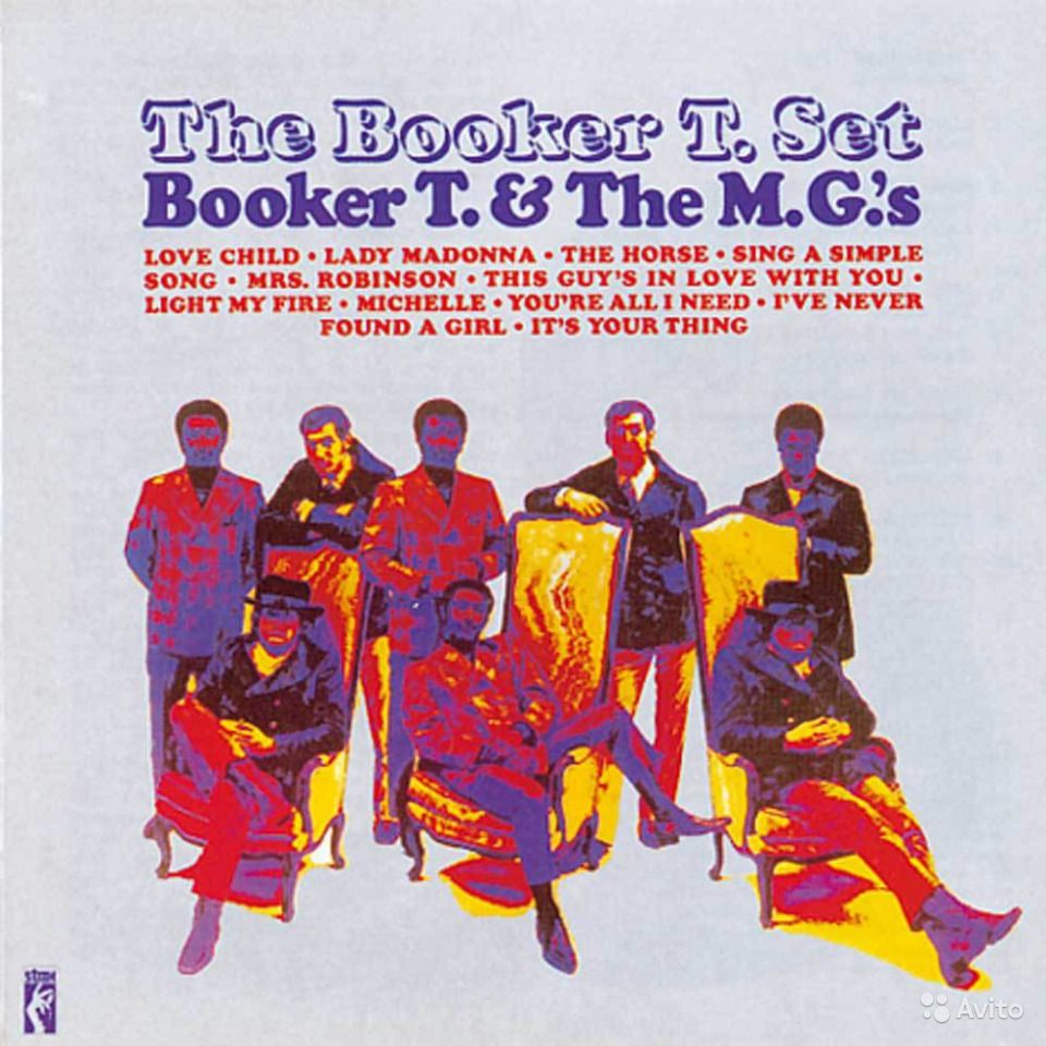 Booker T & The MG's Booker T. And The MG's Green Onions / Chinese Checkers