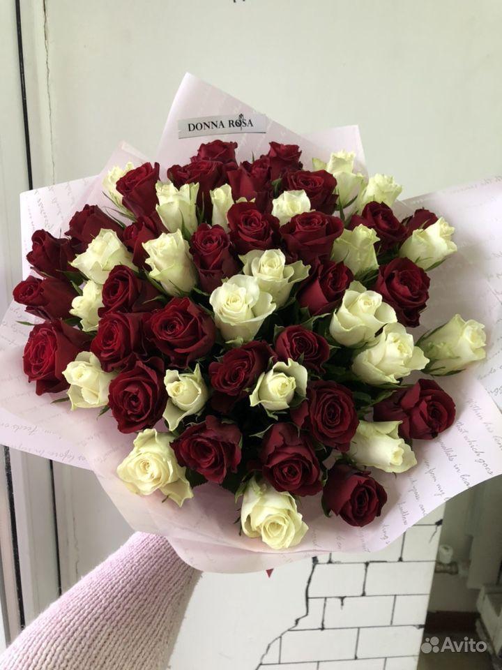 51 роза купить на Зозу.ру - фотография № 2