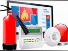 Установка пожарной сигнализации, видедеонаблюдение