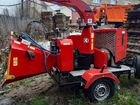 Дробилка SDT 250 Измельчитель кустов древесины