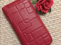 dd50203a9d60 Кожаный женский кошелек-клатч