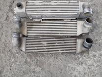 Радиатор интеркуллера на Киа Соренто, 2.5 D 2004 г