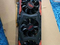 Rx 570 4гига red devil