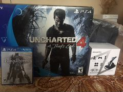 PS4 Slim Jet Black 500 gb (Uncharted Edition)