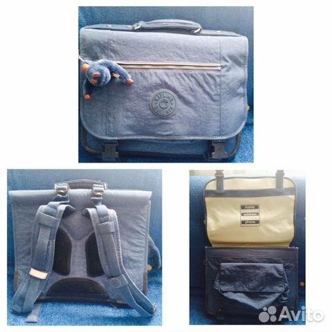 80c01df9696a Портфель KIpling рюкзак сумка LV купить в Москве на Avito ...