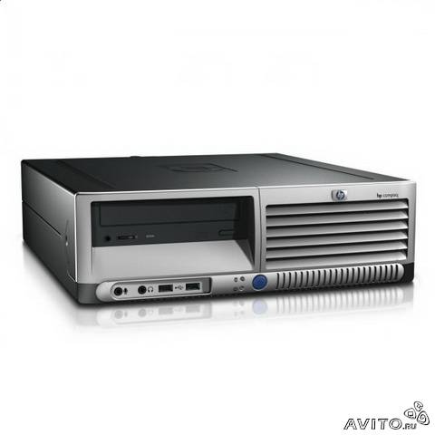 HP Compaq dc7600 sff (Intel P4-2.8 1Gb/80Gb)