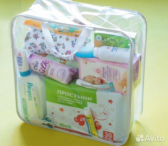 Готовая сумка в роддом купить в Москве на Avito