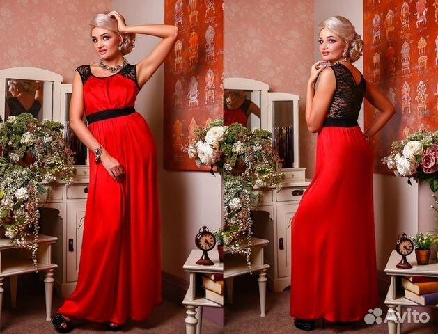 cc51d32abaa40b3 Новое яркое красное платье на вечер или праздник купить в Москве на ...