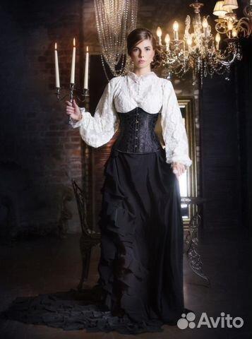 Платье ретро 19 век
