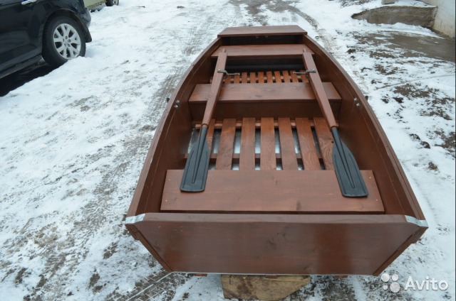 деревянная лодка уфа