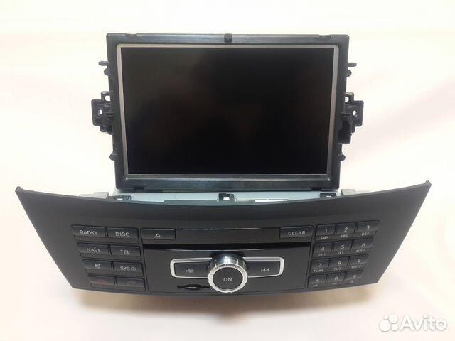 штатный монитор на мерседес w204 2007г