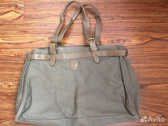 6bb8616fa659 Сумка портфель, сумку из натуральной кожи милитари— фотография №1