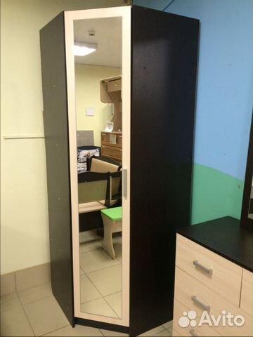 Шкаф угловой с зеркалом купить в псковской области на avito .