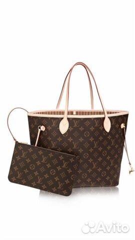 Косметичка от Neverfull Louis Vuitton оригинал купить в Москве на ... 7f04ad9bc53