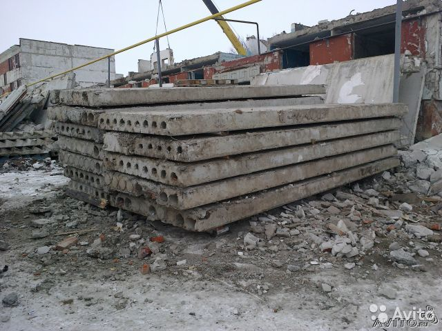 Купит плиты перекрытия в солнечногорском районе