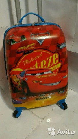 b16d4c2c01aa Новый чемодан на колесах Тачки Маквин | Festima.Ru - Мониторинг ...
