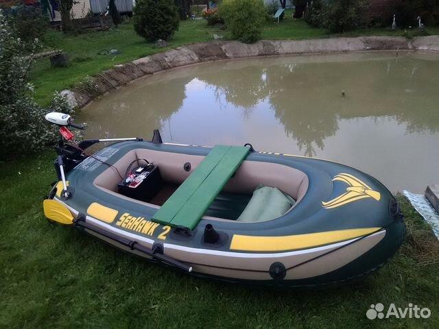 лодка с электромотором купить экскурсион 4