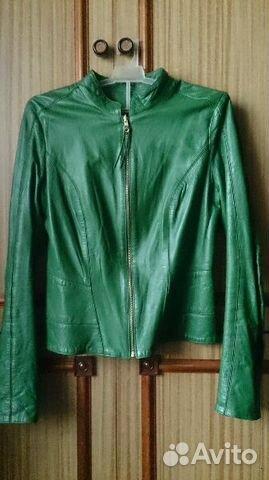 Новая кожаная жен. куртка 89090333305 купить 1