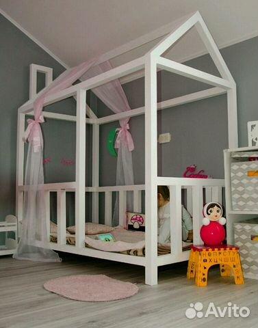 Кровать домик волгоград