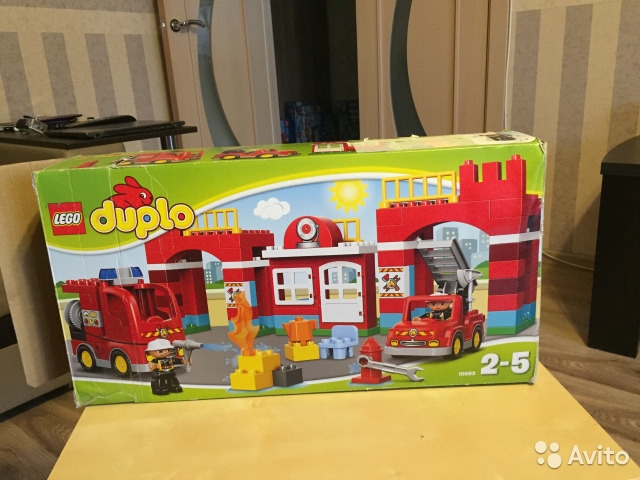 Конструктор lego Duplo 10593 Пожарное депо купить в Московской ...