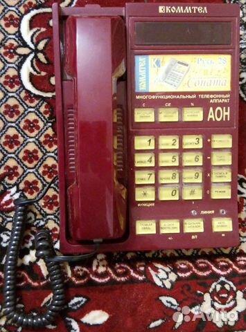 902370cb28699 Телефон Русь-28 Соната с аон купить в Иркутской области на Avito ...