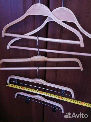 Новые деревянные плечики вешалки 89502092284 купить 7