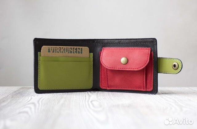 e5867bab5975 Кожаное портмоне ручной работы купить в Санкт-Петербурге на Avito ...