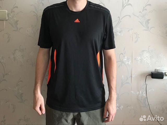 ec23bb75483 Спортивная футболка Adidas купить в Свердловской области на Avito ...