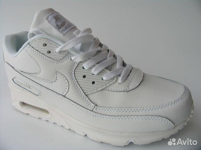 a4136ce4 Кроссовки Nike Air Max 90 Кожа Качество Белые 36 | Festima.Ru ...