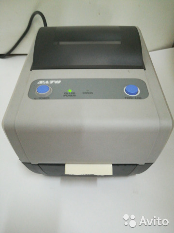 SATO CG408 PRINTER DRIVERS FOR PC