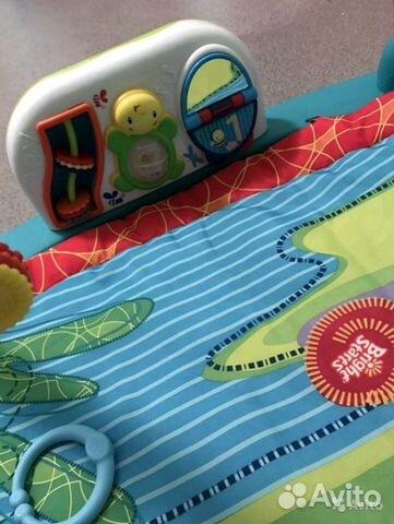 Развивающий коврик с игровой панелью купить 4