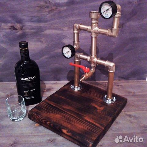 Дозатор для алкогольных напитков в стиле Лофт 89213975985 купить 2