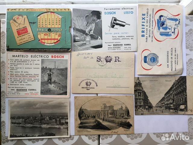 17eeae3df4b2 Старые открытки и фото Венгрия Португалии и др купить в Москве на ...