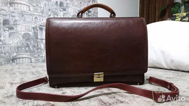 cb70954b7228 Портфель мужской кожаный Wanlima | Festima.Ru - Мониторинг объявлений