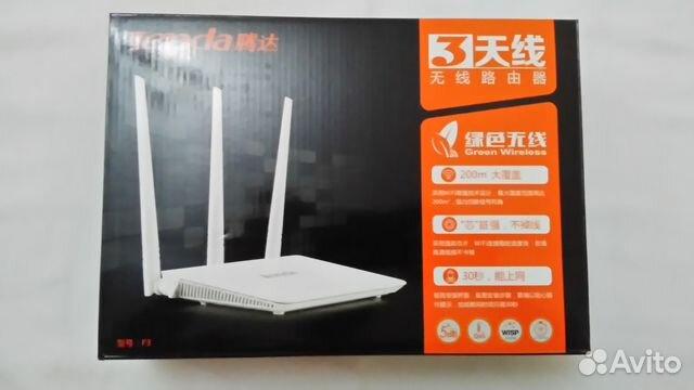 Продам Новый Wi-Fi роутр Tenda. Китайский 89069877765 купить 1