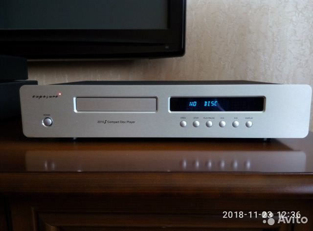 Exposure - 2010S CD player Made in England