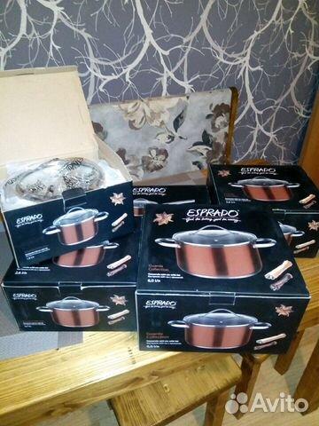 0966df52c320 Набор посуды esprado купить в Белгородской области на Avito ...