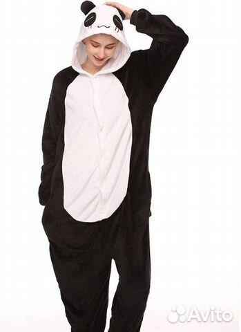 Кигуруми панда на рост 175-185 см 475835494780b