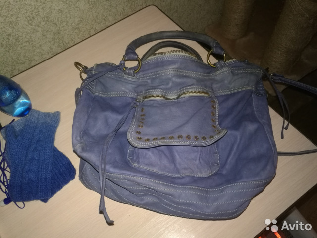Кожаная сумка Moni-moni 99f65292ab11d